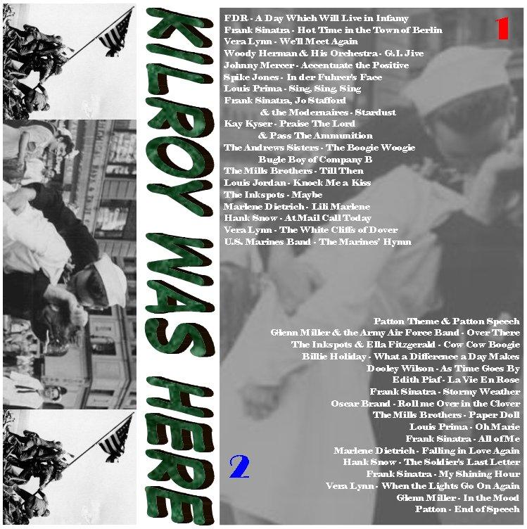 57ac6abf0b91 Kilroy Was Here  Music of World War 2 by stripey357
